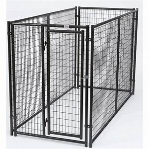 10 ft x 5 ft x 6 ft dog kennel 38140347 the home depot With 10 x 10 x 4 dog kennel