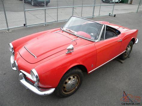 1964 Alfa Romeo Giulia 101 Spider Normale