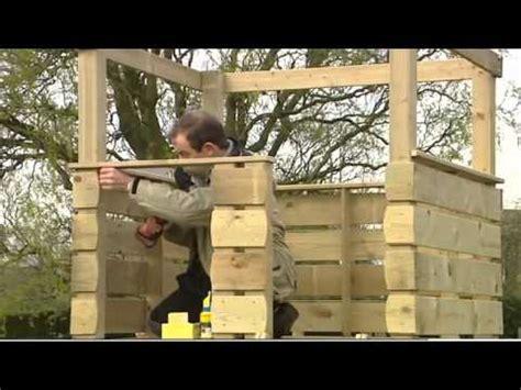construire une cabane sur pilotis