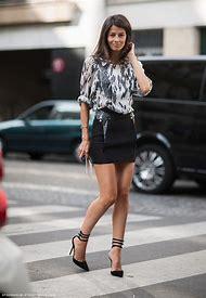 Black Skirt Street-Style