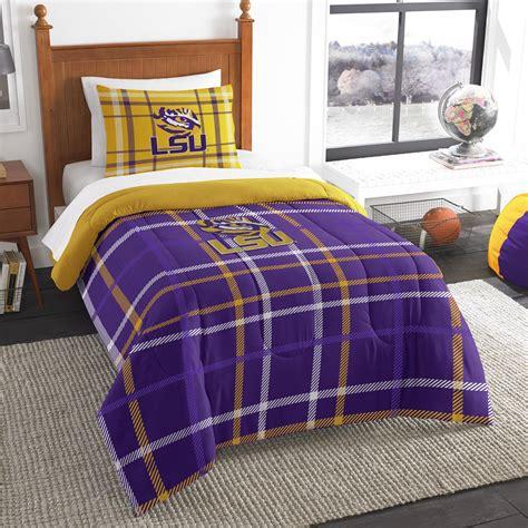 ncaa twin bedding set louisiana state university