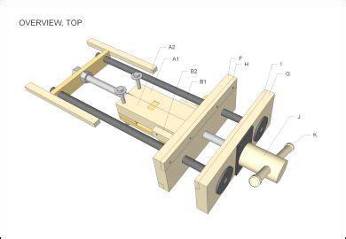woodworking vise plans bing images workshop