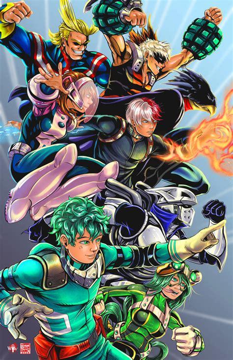 My Hero Academia By Tyrinecarver On Deviantart