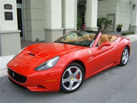 Ferrari California Rental In Chicago  Imagine Lifestyles