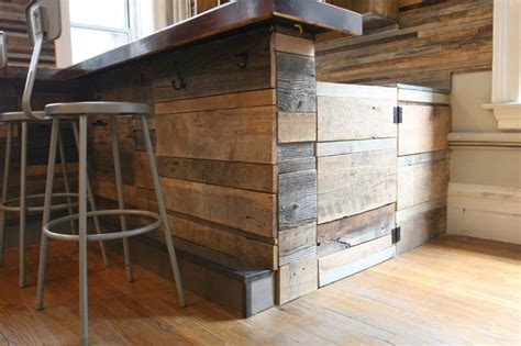 Free Pallet Outdoor Furniture Plans by Reclaimed Wood Bar Rustic New York By Jen Chu Design