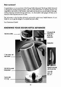 Gastroback 42413 Electric Kettle Download Manual For Free
