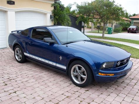 ford mustang    time