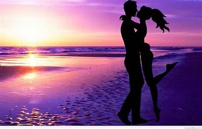 Couple Valentines Sunset Couples Wallpapers Pc Days
