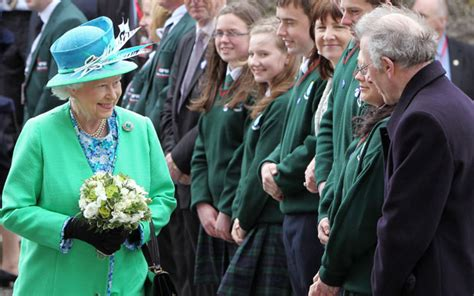 queens visit  ireland  game changer prime minister