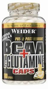 Weider Bcaa   L-glutamine Caps - 180 Caps