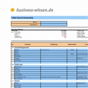 Nutzungsdauer Berechnen : total cost of ownership berechnen excel tabelle ~ Themetempest.com Abrechnung