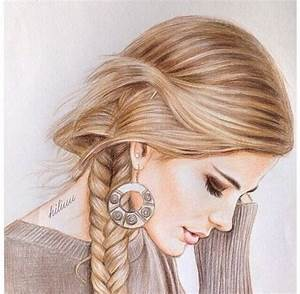 hairstyles cute draw - Google претрага | Hair draw ...