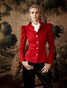 valentina zelyaeva stars  ralph lauren holiday  ads