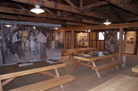 mess hall move manzanar national historic site
