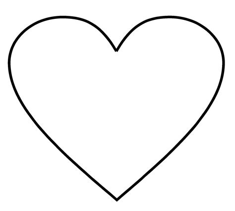 7 Best Images Of Printable 2 Inch Heart Stencil Free