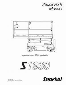 Snorkel S1930 Wiring Diagram