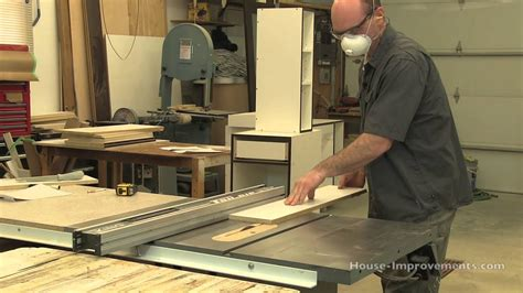 diy cabinet building cutting melamine edge banding tape