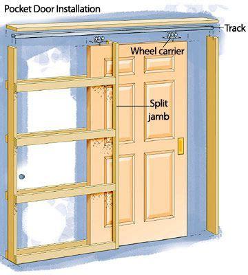 diy great ways  upgrade bathroom  pocket doors