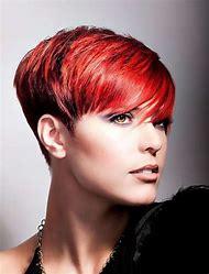 Short Red Hair Pixie Cut Hairstyles