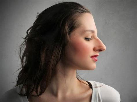long nose hairstyles