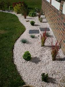 nouveau massif fin boutures de reves le jardin de sophie With lovely jardin avec gravier blanc 10 patio et petit jardin moderne des idees de design d