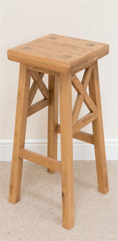 timber bar stools cross bar stool 196 solid american oak timber seat bar 2828