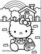 Pages Hello Kitty Coloring Breakfast Beach Getcolorings Getdrawings Printable Colorings sketch template