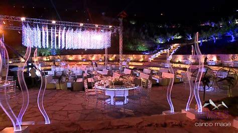 les talus wedding venue lebanon  youtube