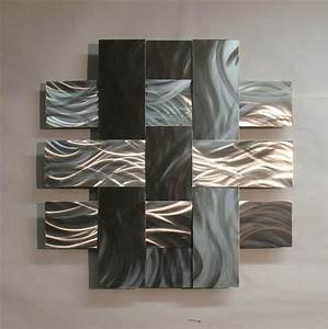 contemporary metal sculptures contemporary metal wall With modern wall art