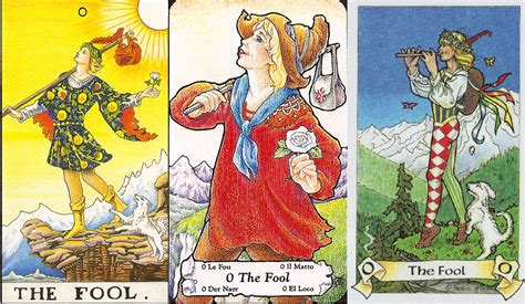 Waite Tarot Fool Card Images HD