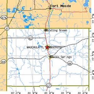 Wauchula Florida On Map
