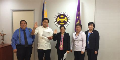 bureau of finance appointments at the department of finance department of