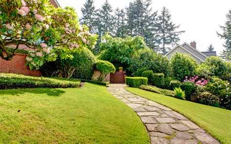 15 garden path ideas with stepping stones garden club