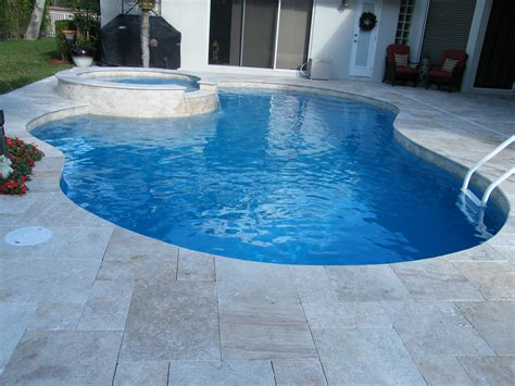 tiles for pool area travertine pavers for your pool summer on the way stone tile us