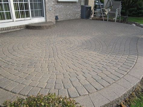 lowes pavers  concrete stepping stones natural