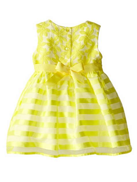 Yellow Infant Dress - Oasis amor Fashion