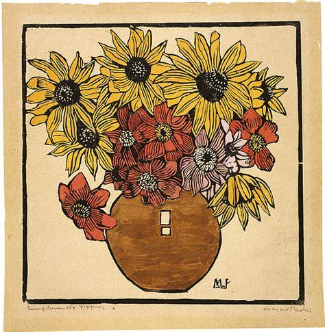dahlia  sunflower   margaret preston