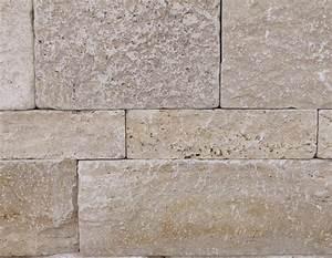Steine Für Gartenmauer : beige travertin natursteinmauer medium great ~ Michelbontemps.com Haus und Dekorationen