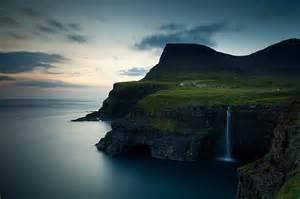 Gasadalur Village in the Faroe Islands   Free Desktop HD Wallpaper