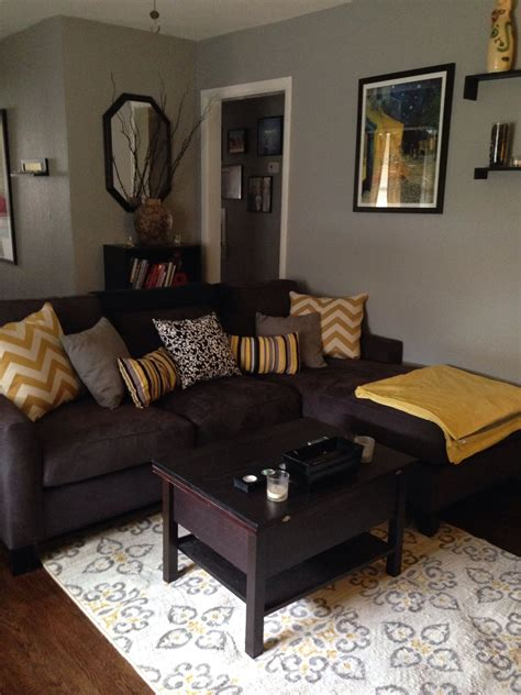 Grey Living Room Brown Sofa by Furniture Ideas For An And Refined Living Room