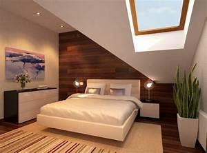 Farben Für Kleine Räume Mit Dachschräge : schlafzimmer mit dachschr ge 34 tolle bilder ~ Frokenaadalensverden.com Haus und Dekorationen