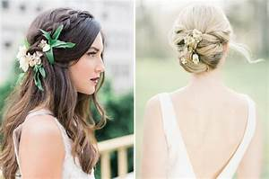 20 Bridal Hairstyles With Real Flowers SouthBound Bride
