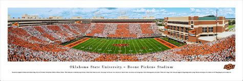 boone pickens stadium facts figures pictures     oklahoma state cowboys college