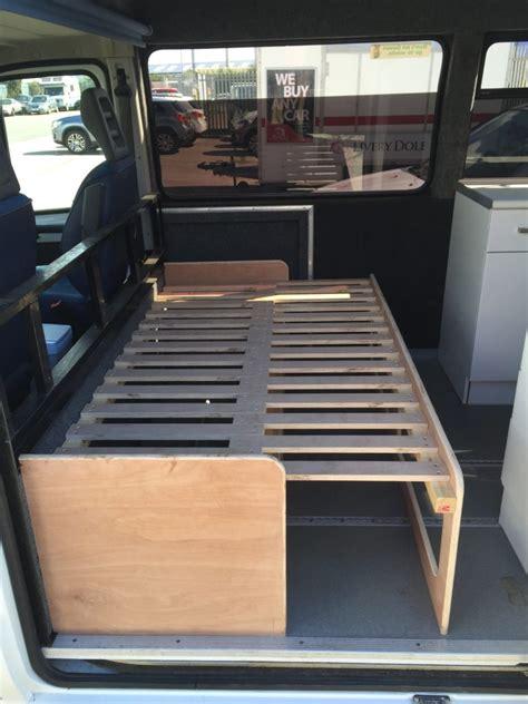 camper van pull  bed  builders uk