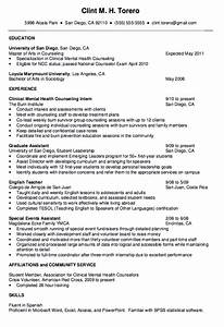 mental health counselor resume http exampleresumecv With counselor resume sample