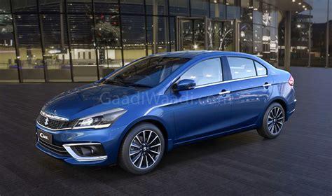 Suzuki Ciaz Backgrounds by 2018 Maruti Suzuki Ciaz Facelift Prices Specs Mileage
