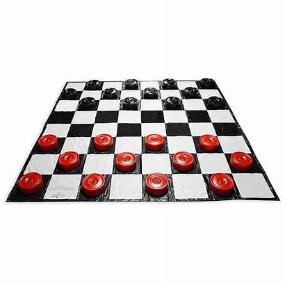Checkers Giant Games Garden Mat Noveltystreet Walmart