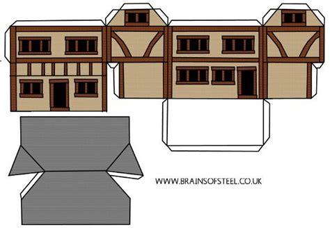 create a house how to make a medieval model house rescources and books for young c