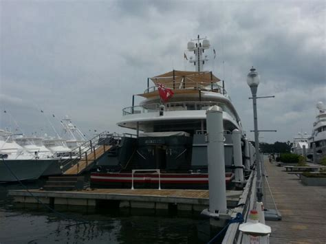 Address Of Palm Beach Boat Show by Kismet Is This Year S Biggest Boat At The Palm Beach Boat