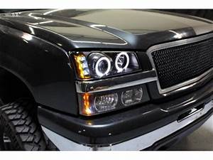 2004 Chevy Avalanche Lights Chevy Avalanche 2003 2005 Black Halo Projector Headlights